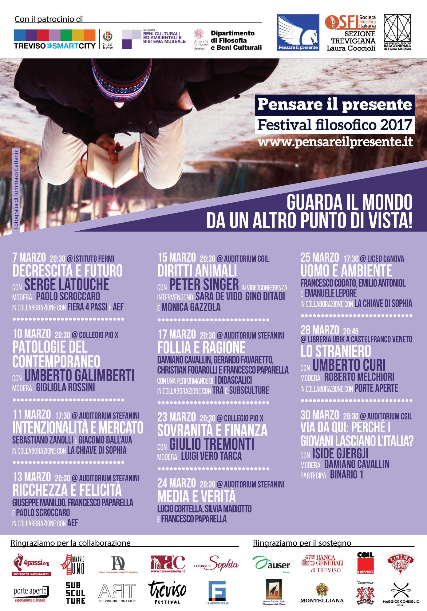 Festival PENSARE IL PRESENTE 2017 (locand